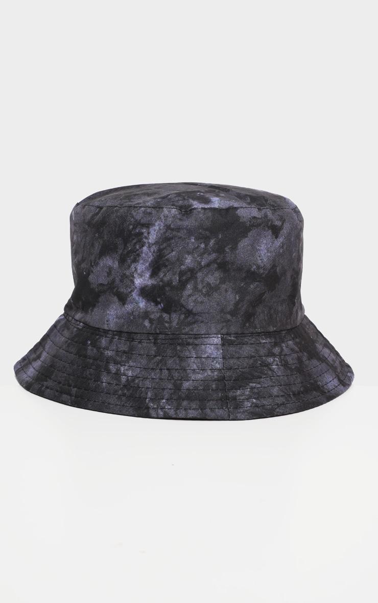 Black Tie Die Bucket Hat   2