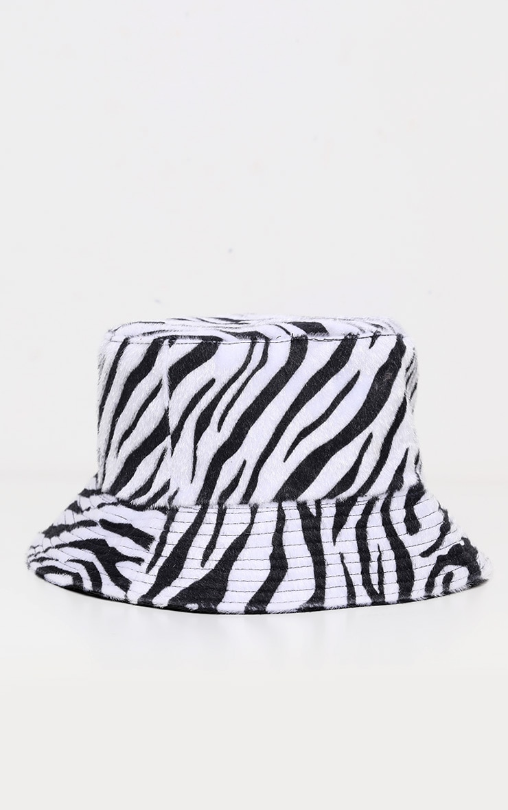 Zebra Bucket Hat 3