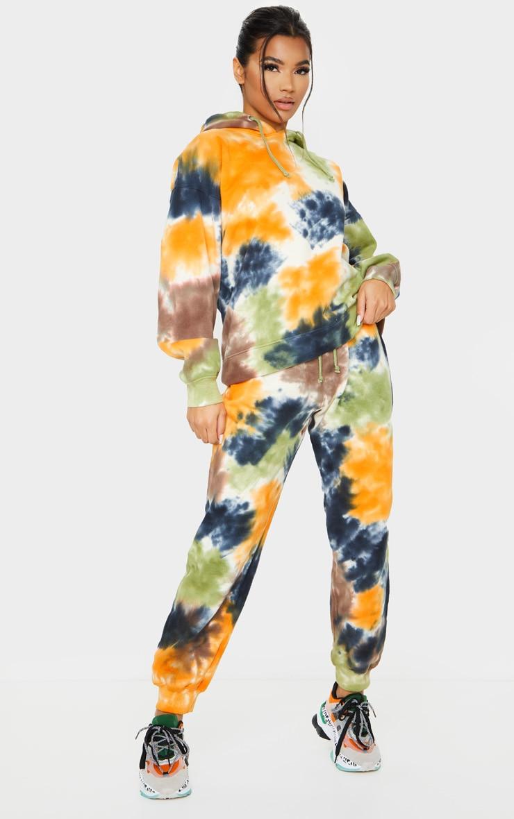Multi Tie Dye Joggers 1