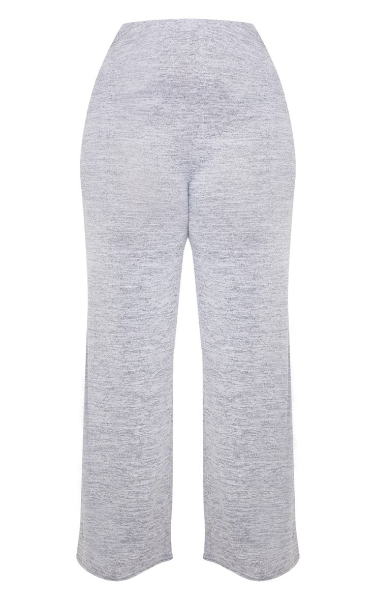 Plus Grey Wide Leg Pants 3