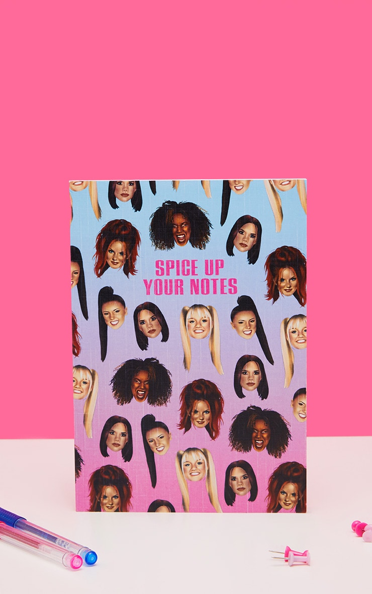 Central 23 Spice Girls Spice Up Your Notes A5 Note Book 1