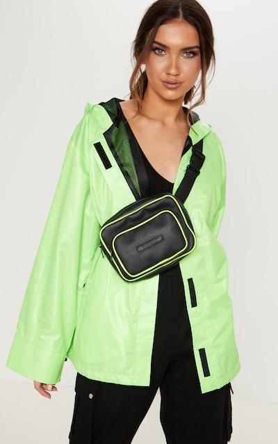 Veste à capuche vert citron fluo 9f59bd3d1d63