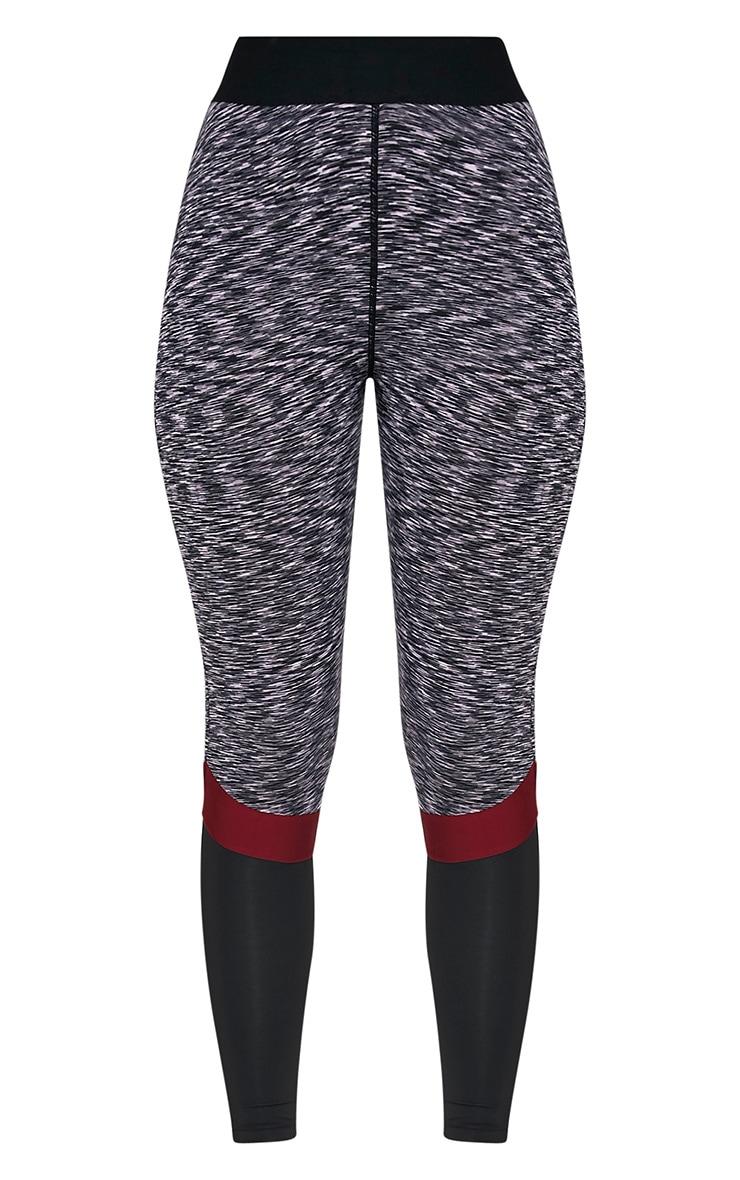 Kenna Berry Panelled Gym Leggings 3