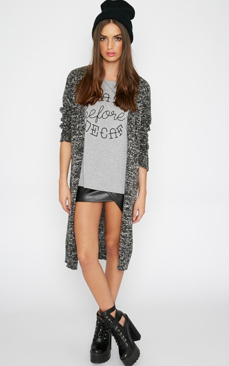 Randi Grey  Knitted Cardigan  3