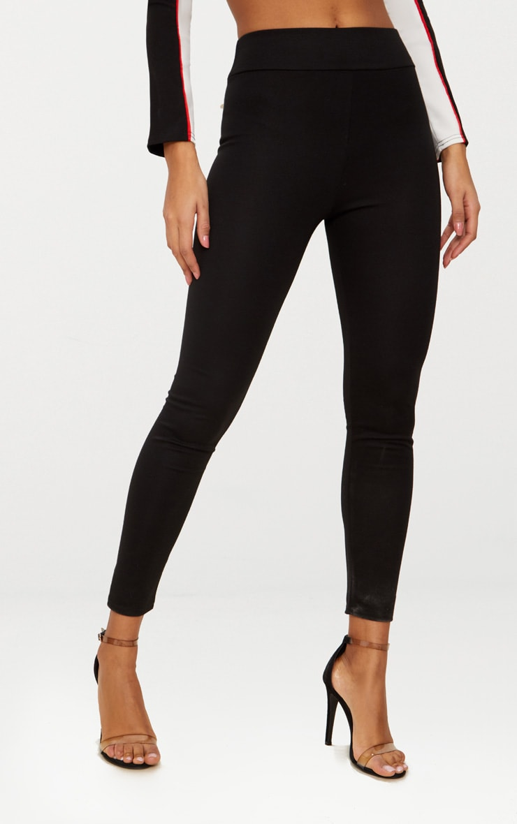 Black Ponte Highwaisted Leggings 2