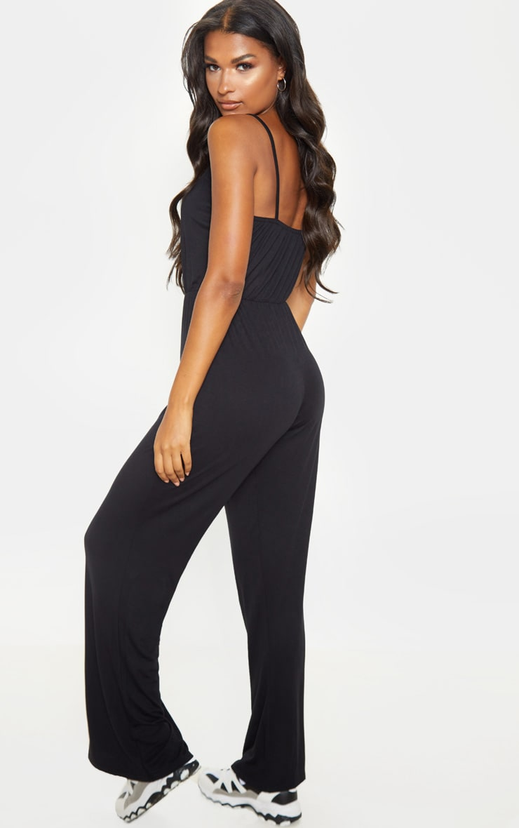 Black Slouchy Jumpsuit 2