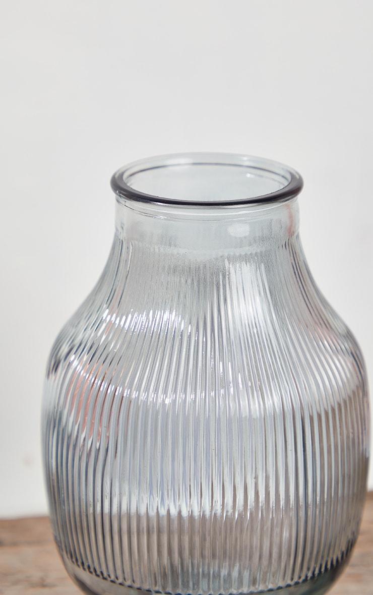 Grey Glass Round Vase 5