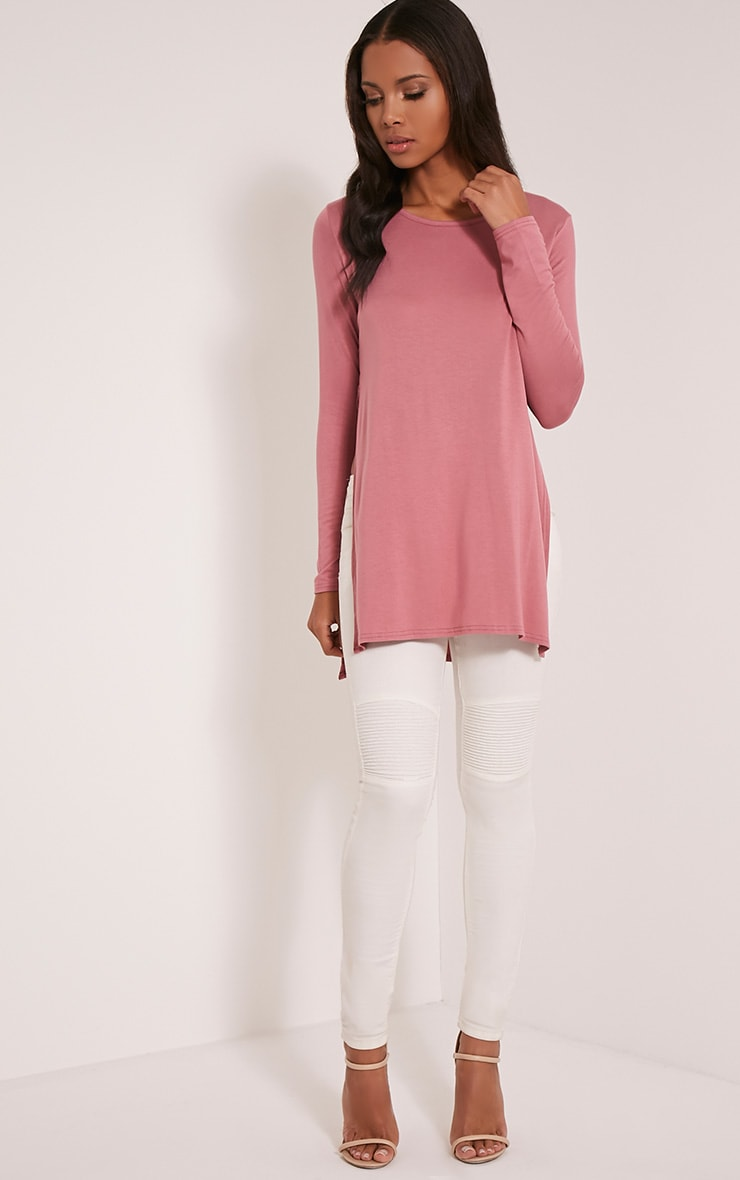 Tamsyn Rose Long Sleeve Side Split Top 5