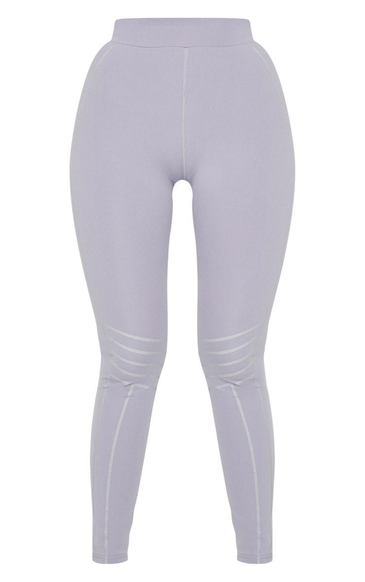 Grey Line Detail Gym Legging 5