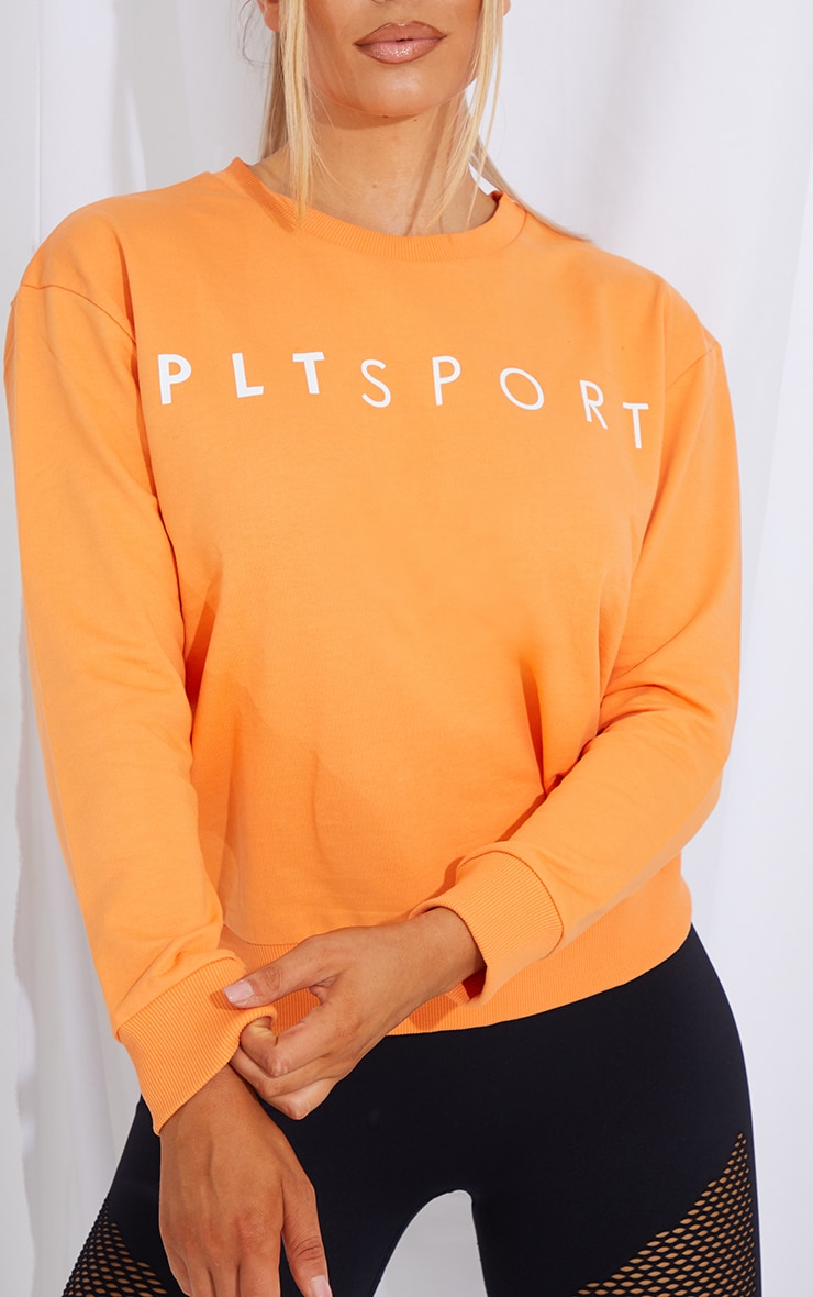 PRETTYLITTLETHING Peach Sweater 4