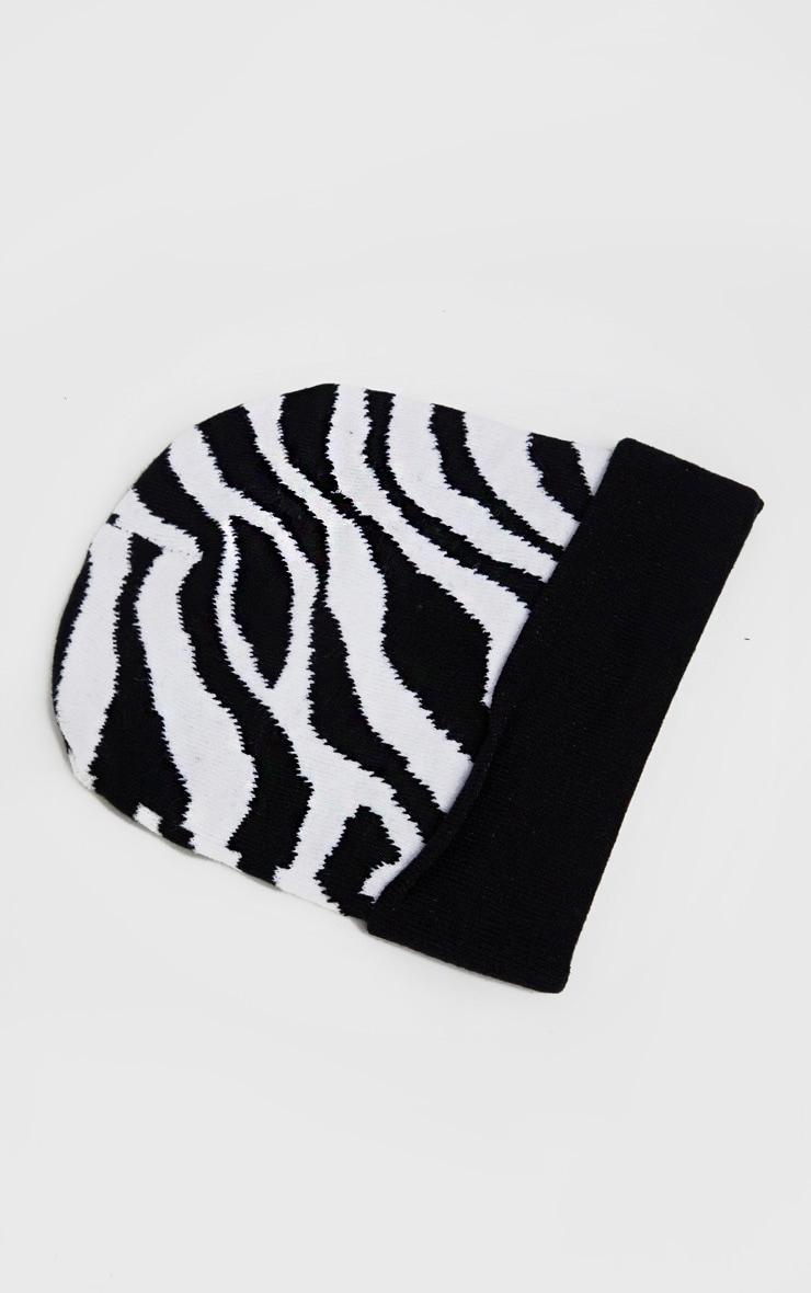 Zebra Beanie 2