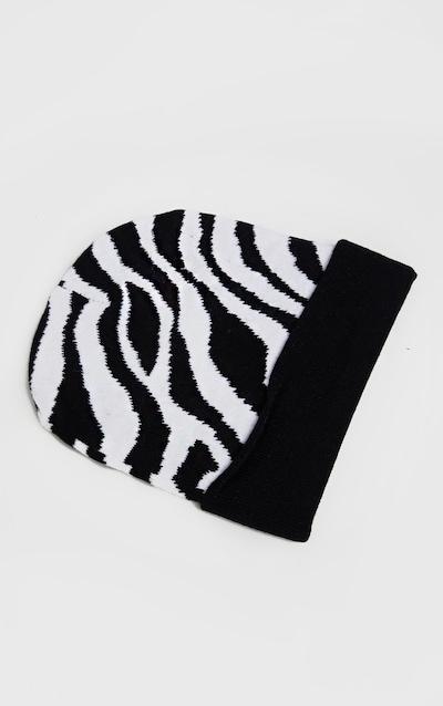 Zebra Beanie