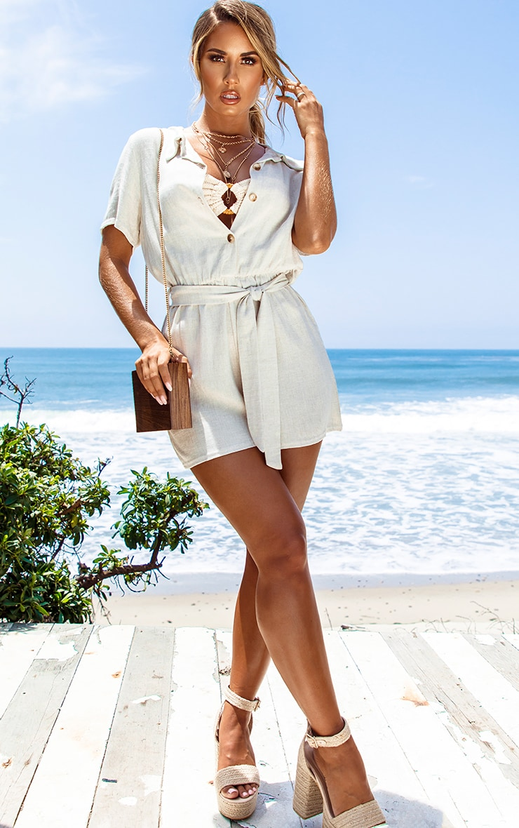Sand Ring Detail Crinkle Bikini Bottom 5