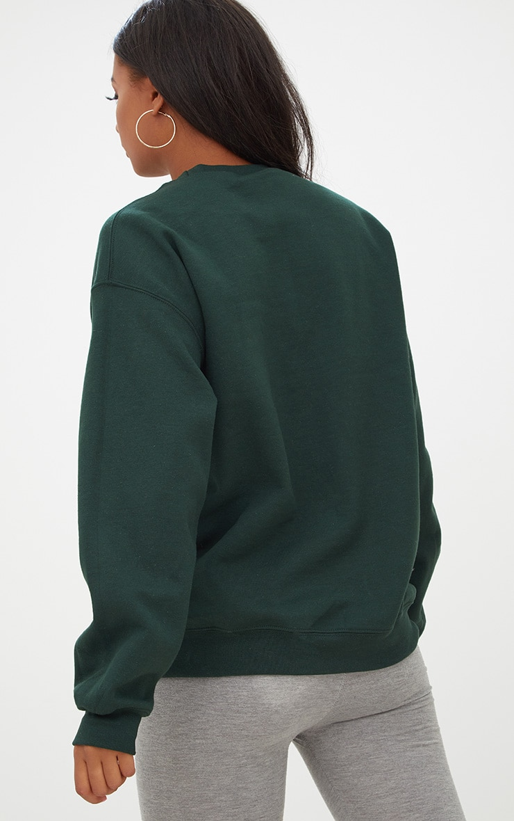 Forest Green Ultimate Oversized Sweater 2