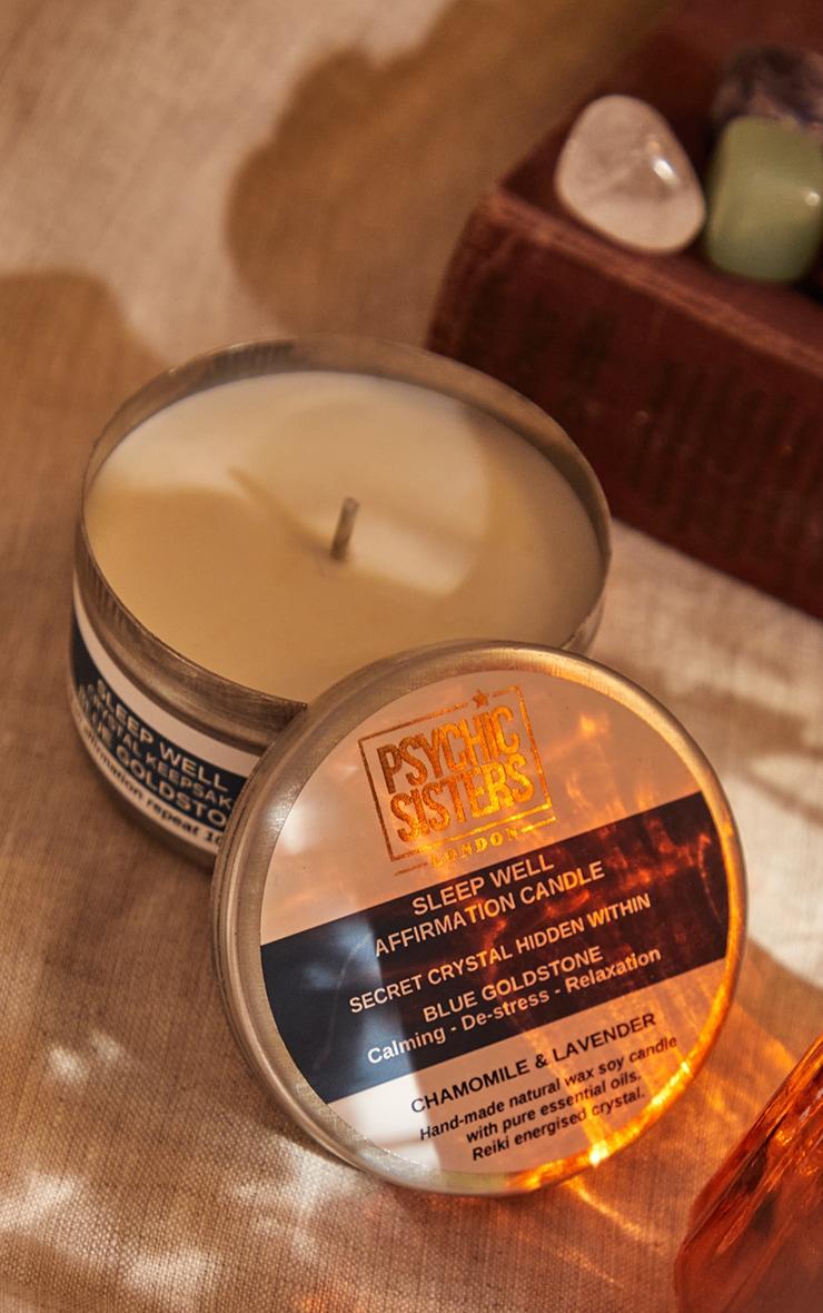 Psychic Sisters Sleepwell Tin Candle 1