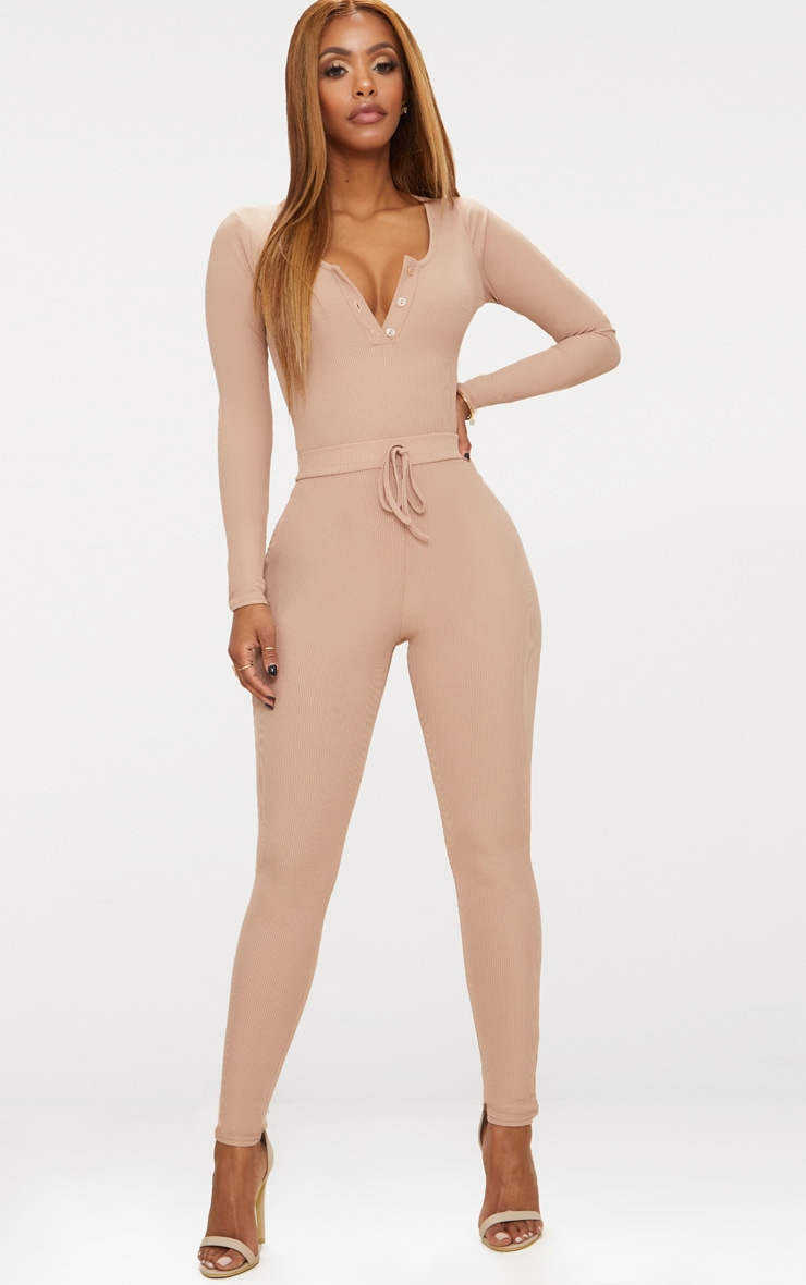 Shape Stone Ribbed Long Sleeve Bodysuit 5