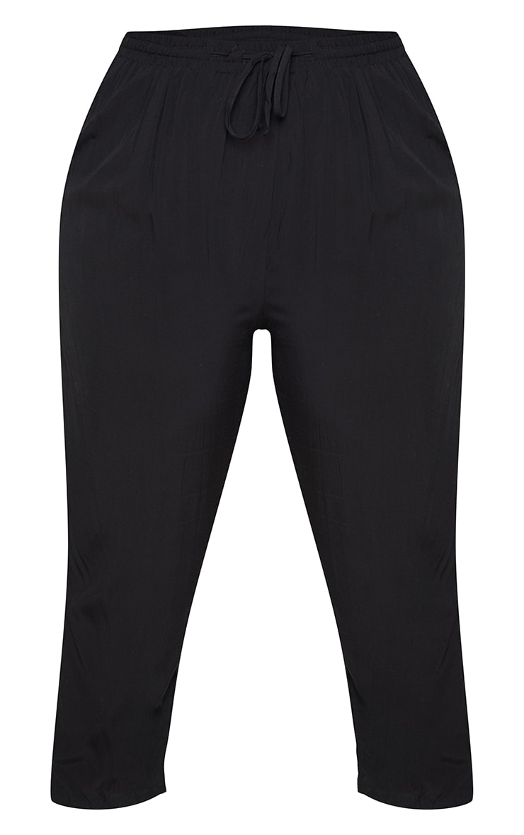 Plus Black Casual Trousers 5