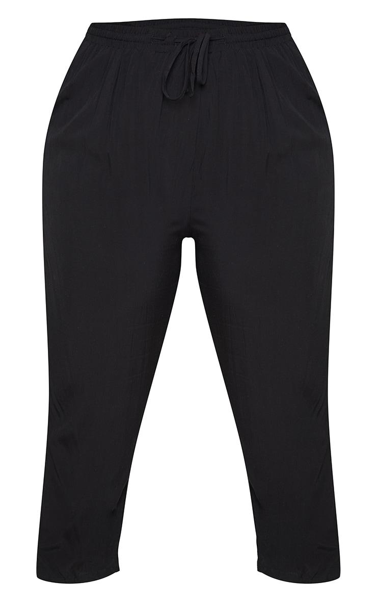 Plus Black Casual Pants 5