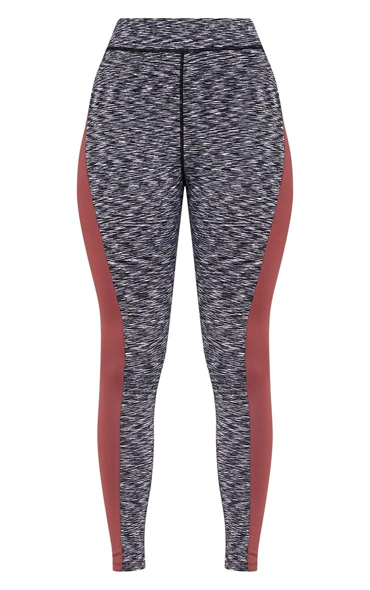 Nisha legging de sport à empiècements sur le côté couleur vison 3