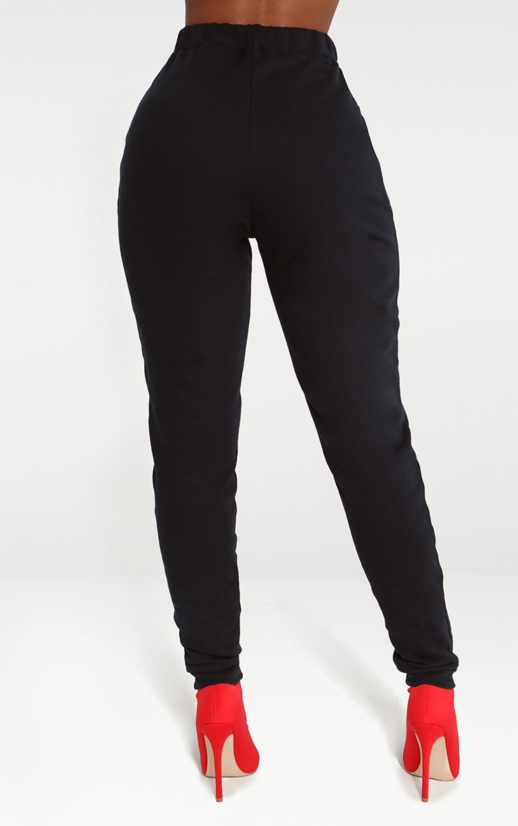 Shape Black Elastic Bottom Joggers 4