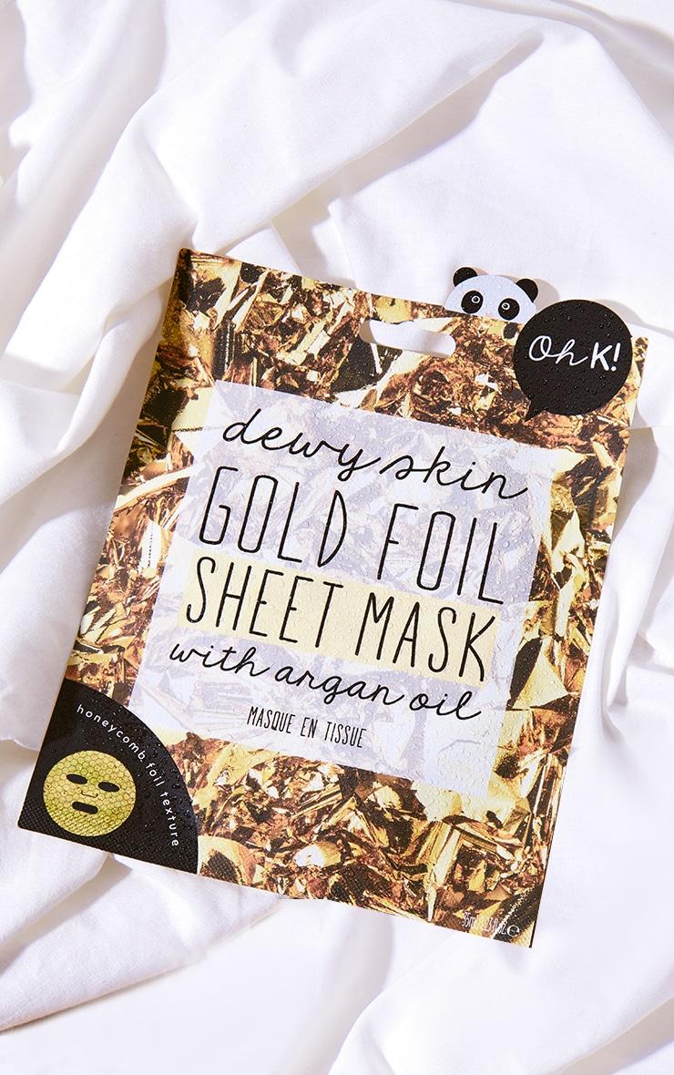 Oh K! Gold Foil Sheet Mask 1