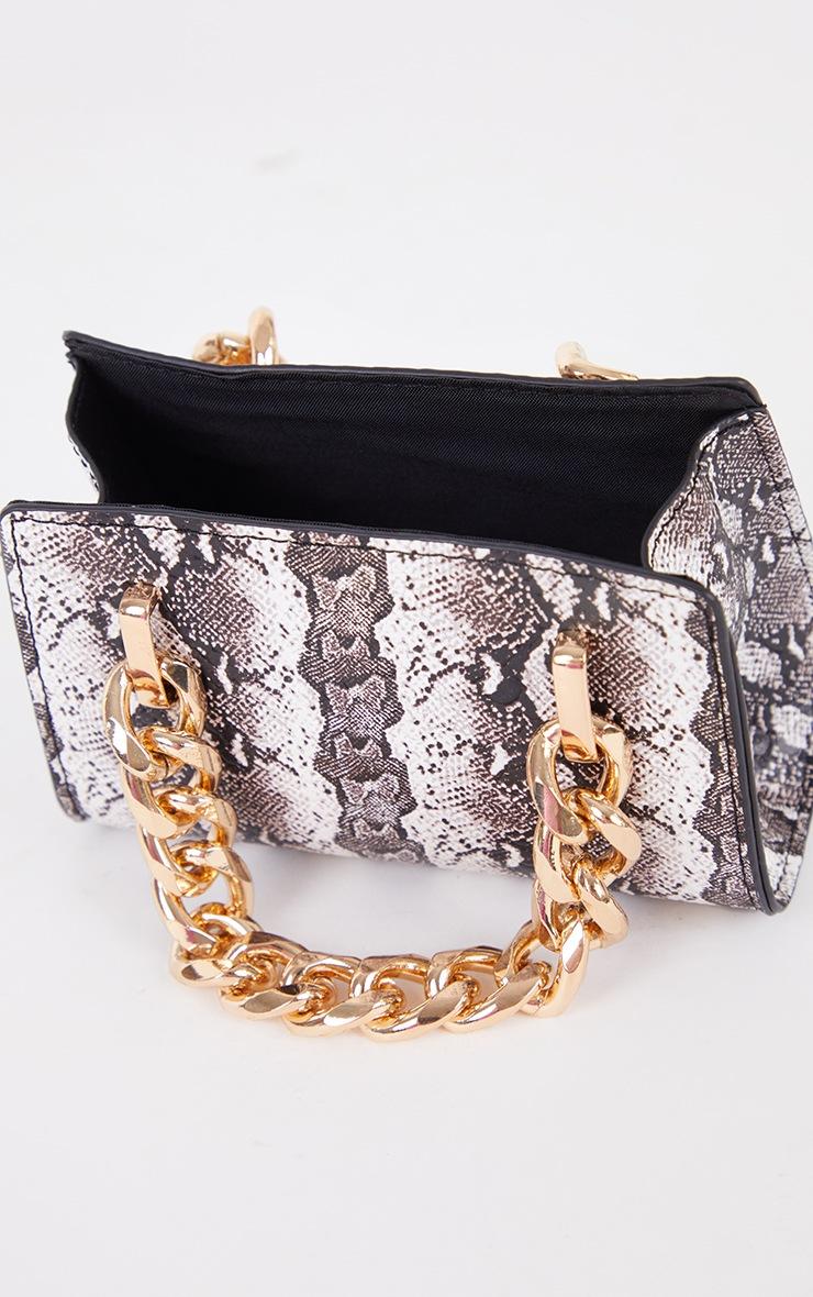 Black Snake Chunky Chain Mini Grab Bag 3