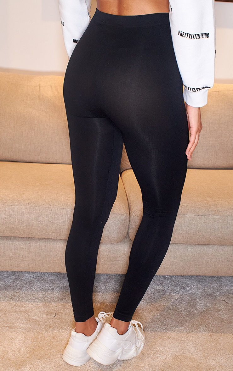Black Seamless Leggings 3