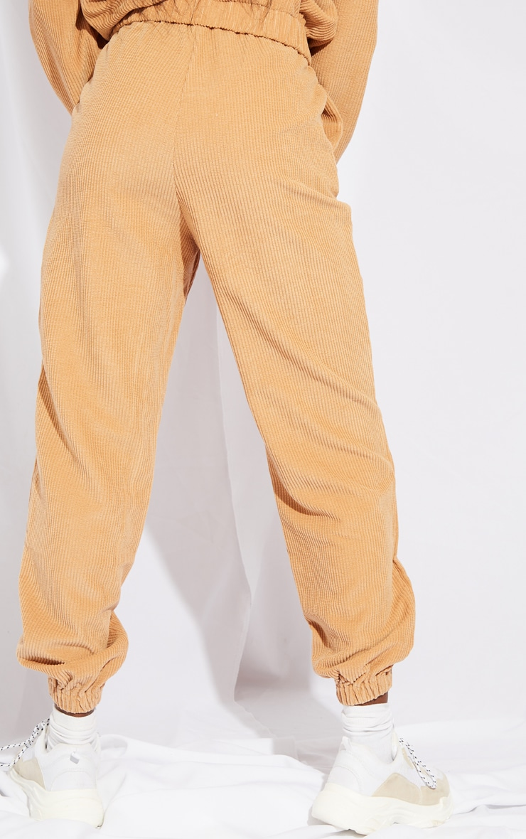Tall Stone Oversized Cord Detail Joggers 3