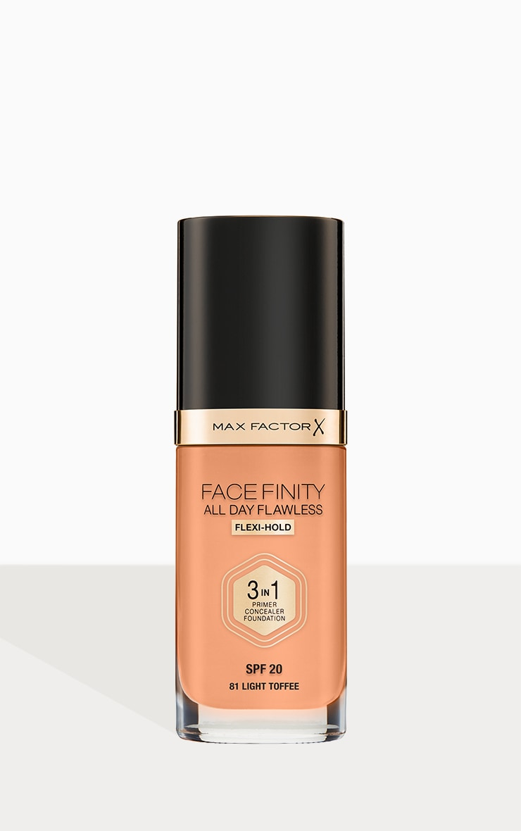 Max Factor Facefinity All Day Flawless Foundation Light Toffee 1