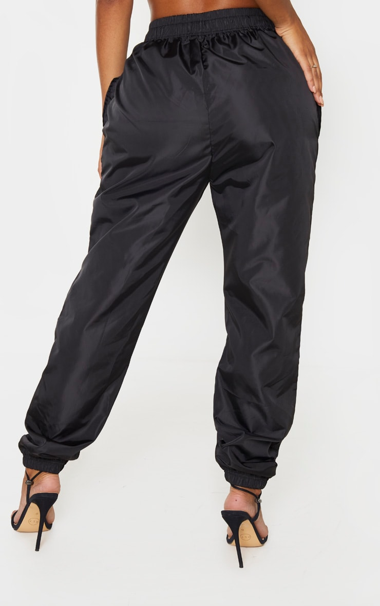 Shape Black High Waist Shell Jogger 4