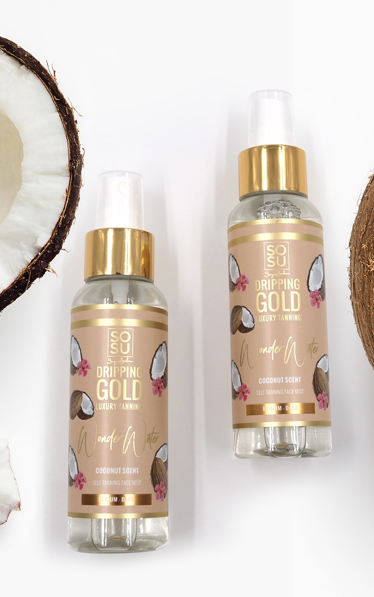 SOSUBYSJ Dripping Gold Medium Dark Tanning Wonder Water Coconut 2