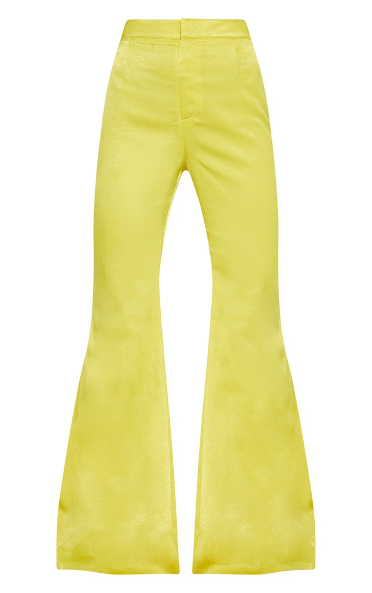 Lime Tailored Extreme Flared Trouser 3