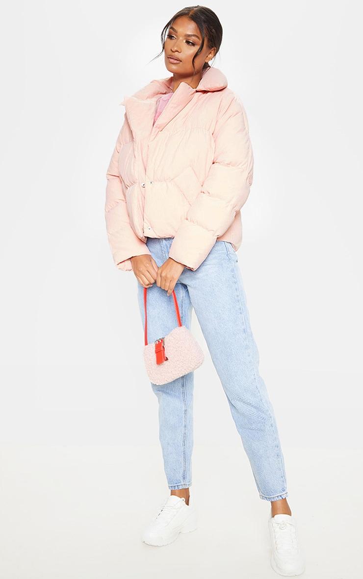 Pink Puffer Coat 5