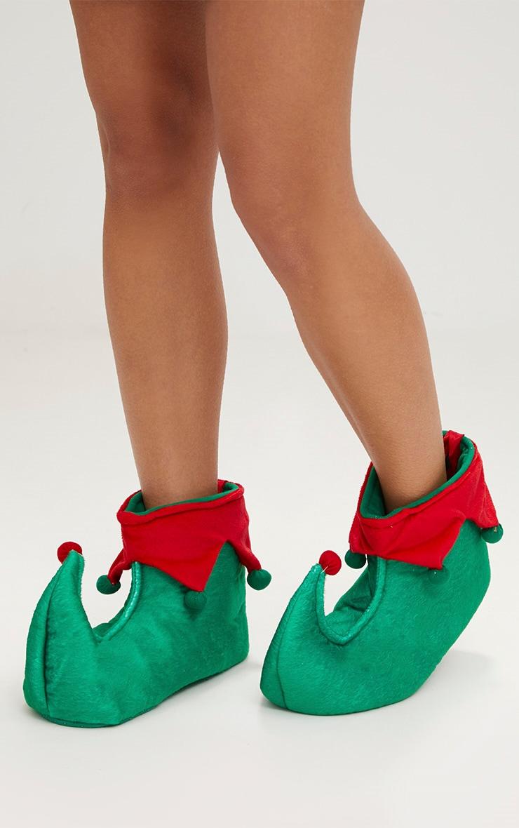 Green Elf Slippers 1