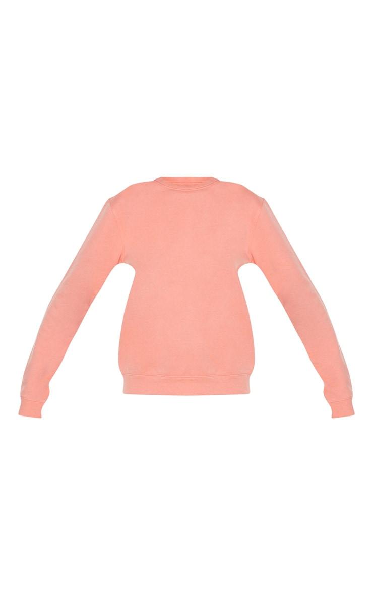 Peach Ultimate Oversized Sweater 4