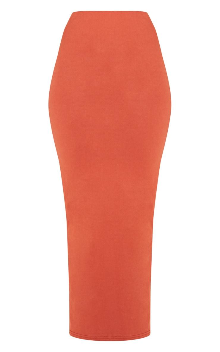 Brick Jersey Midaxi Skirt 3