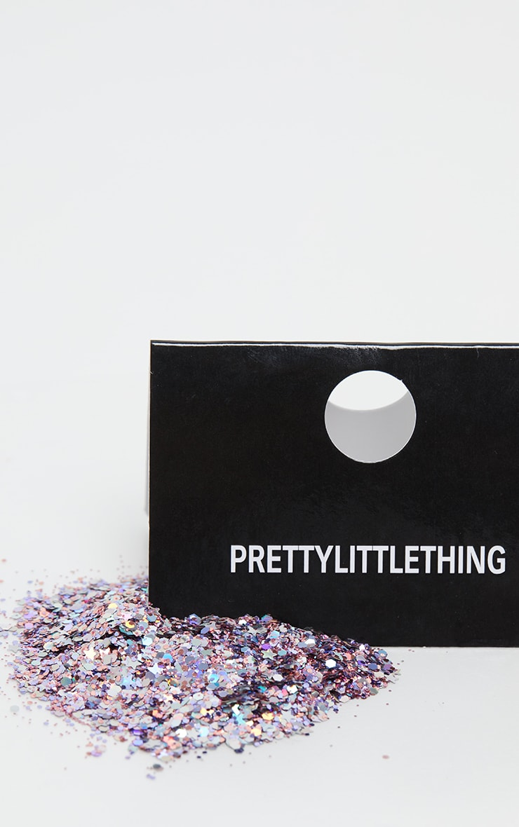 PRETTYLITTLETHING Chunky Pink Pegasus Glitter 3