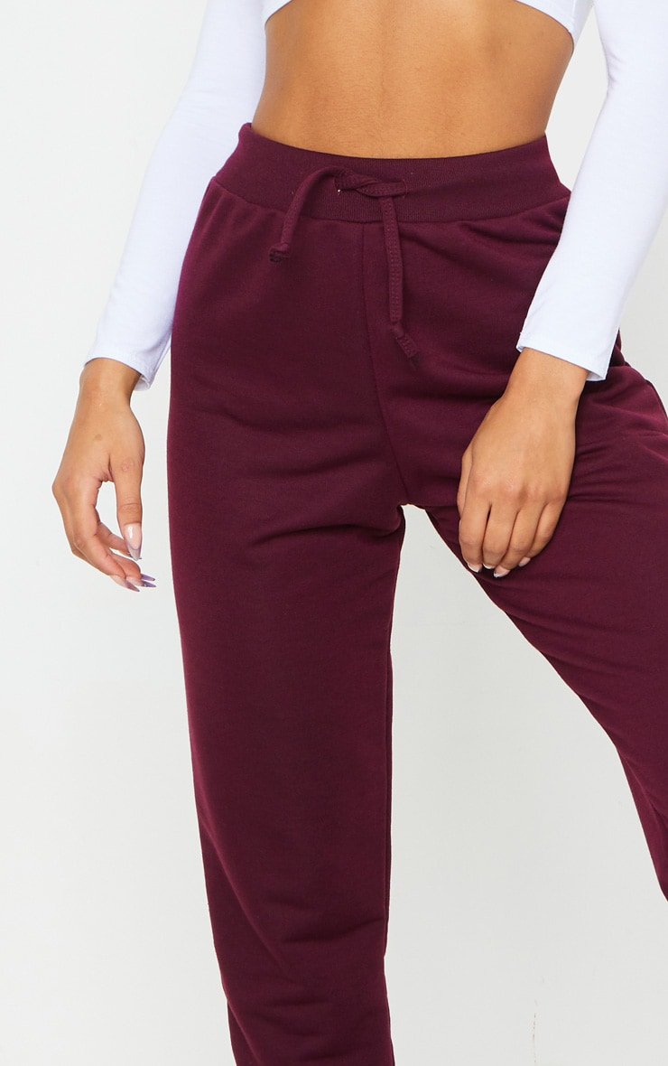 Maroon Ultimate Sweat Track Pants 4