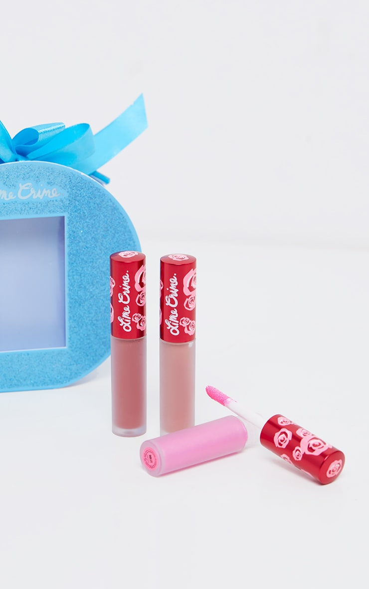 Lime Crime Holiday Velvetines Limited Edition 3 Piece Mini Velvetines Set 3