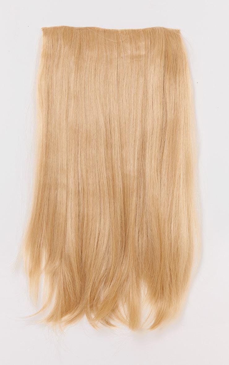 Golden Blonde 24 One Weft Straight Extension