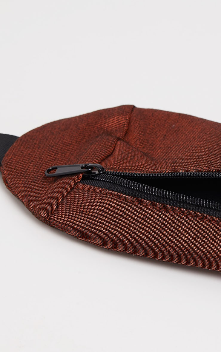 Rust Rectangle Bum Bag 4