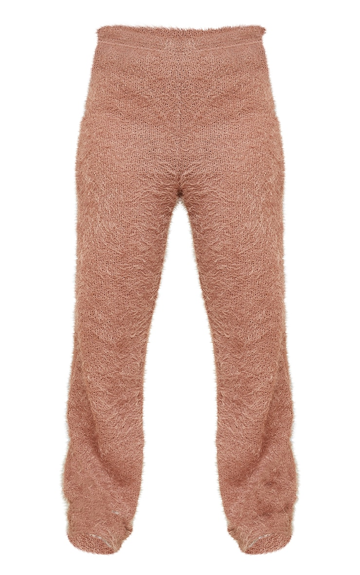 Petite Stone Eyelash Wide Leg Pants 5