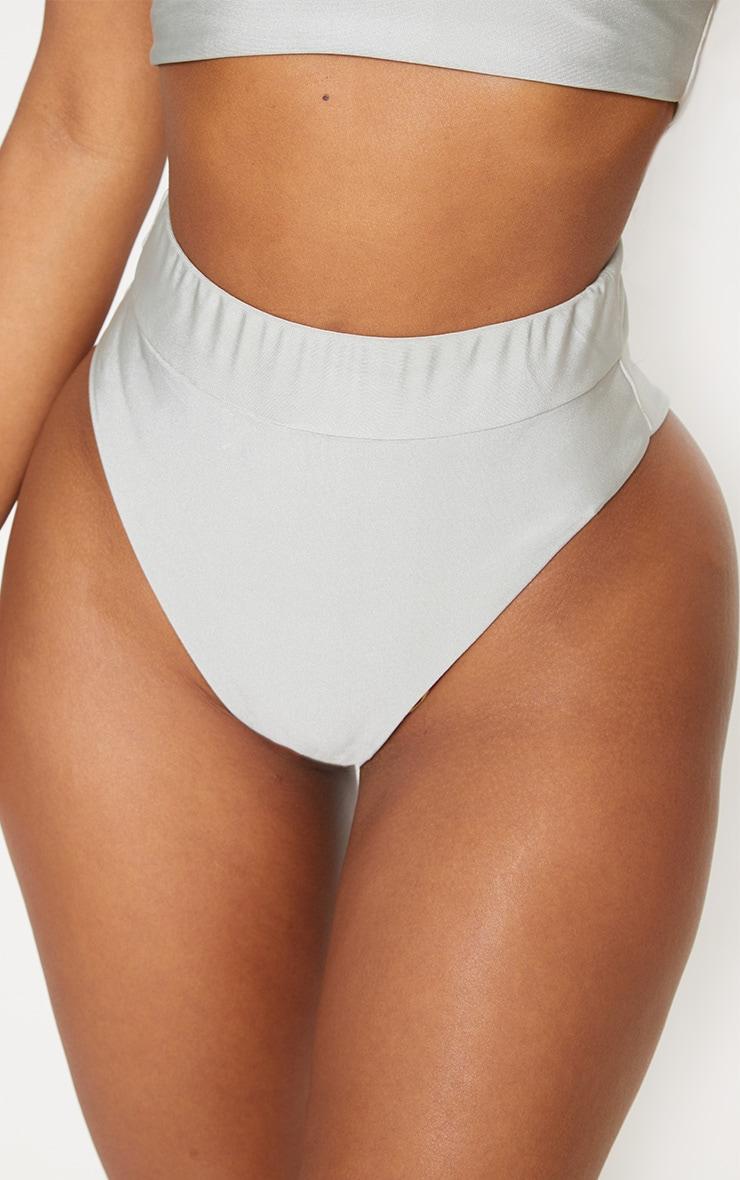 Shape Sage Green Extreme High Leg Bikini Bottom 5