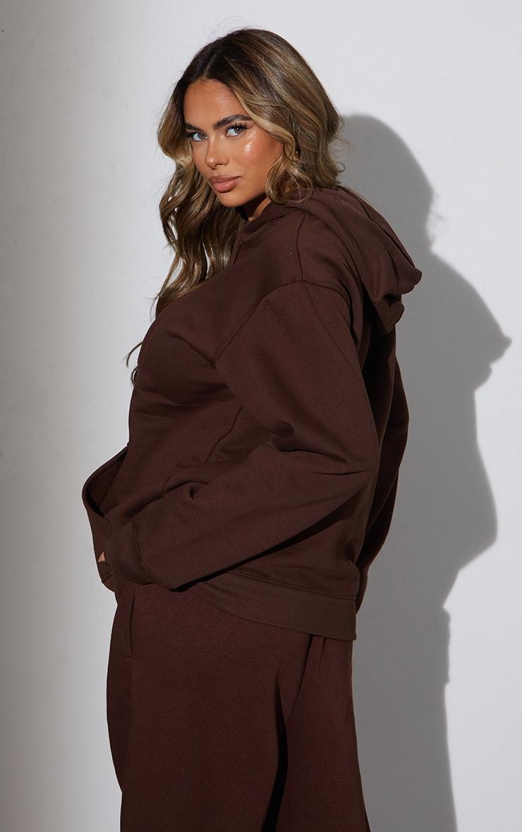 RENEW Maternity Chocolate Ultimate Oversized Hoodie 2
