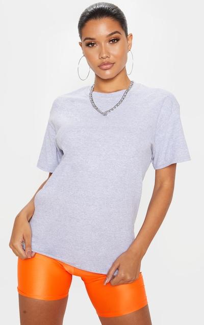 Grey No Fuck Boys Oversized T Shirt
