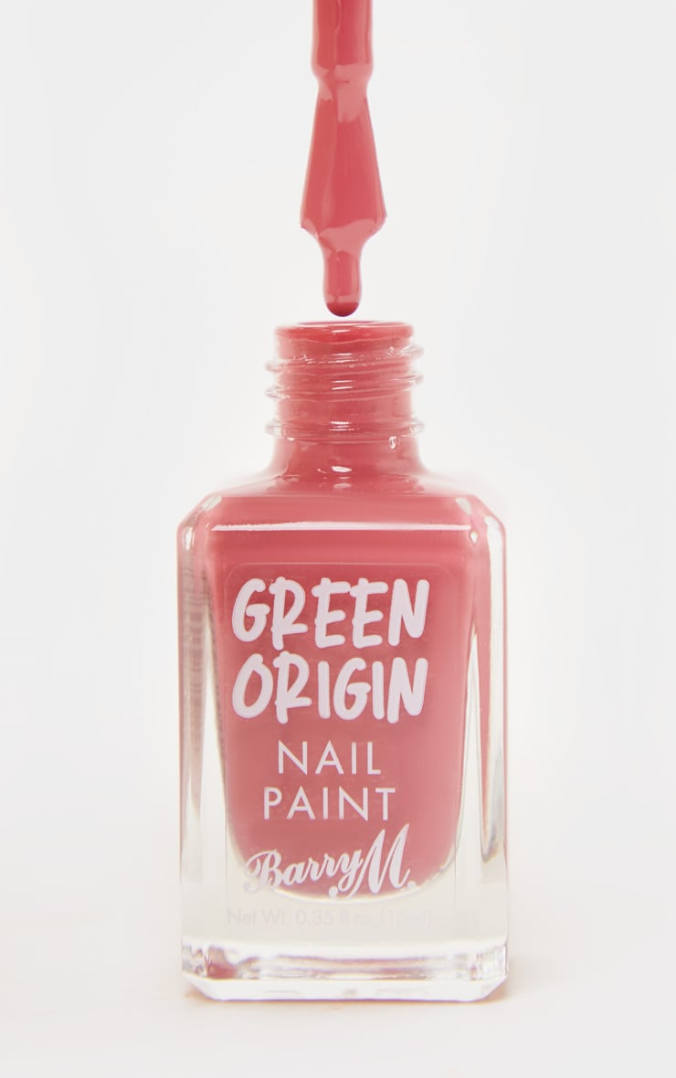 Barry M Cosmetics Green Origin Nail Paint Cranberry 3