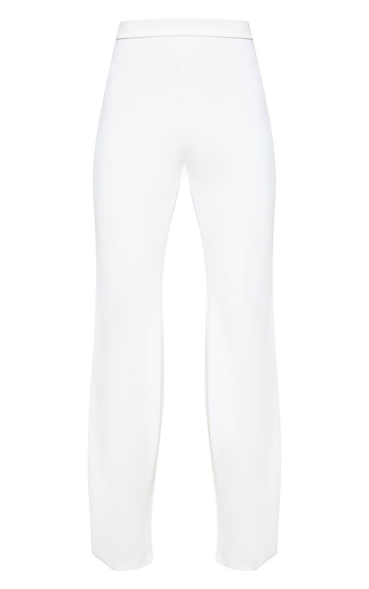Cream Wide Leg Trouser 3