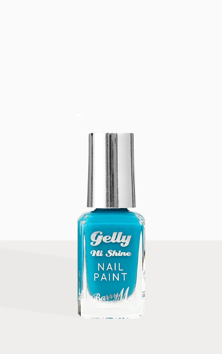 Barry M Gelly Hi Shine Nail Paint Blueberry Muffin 1