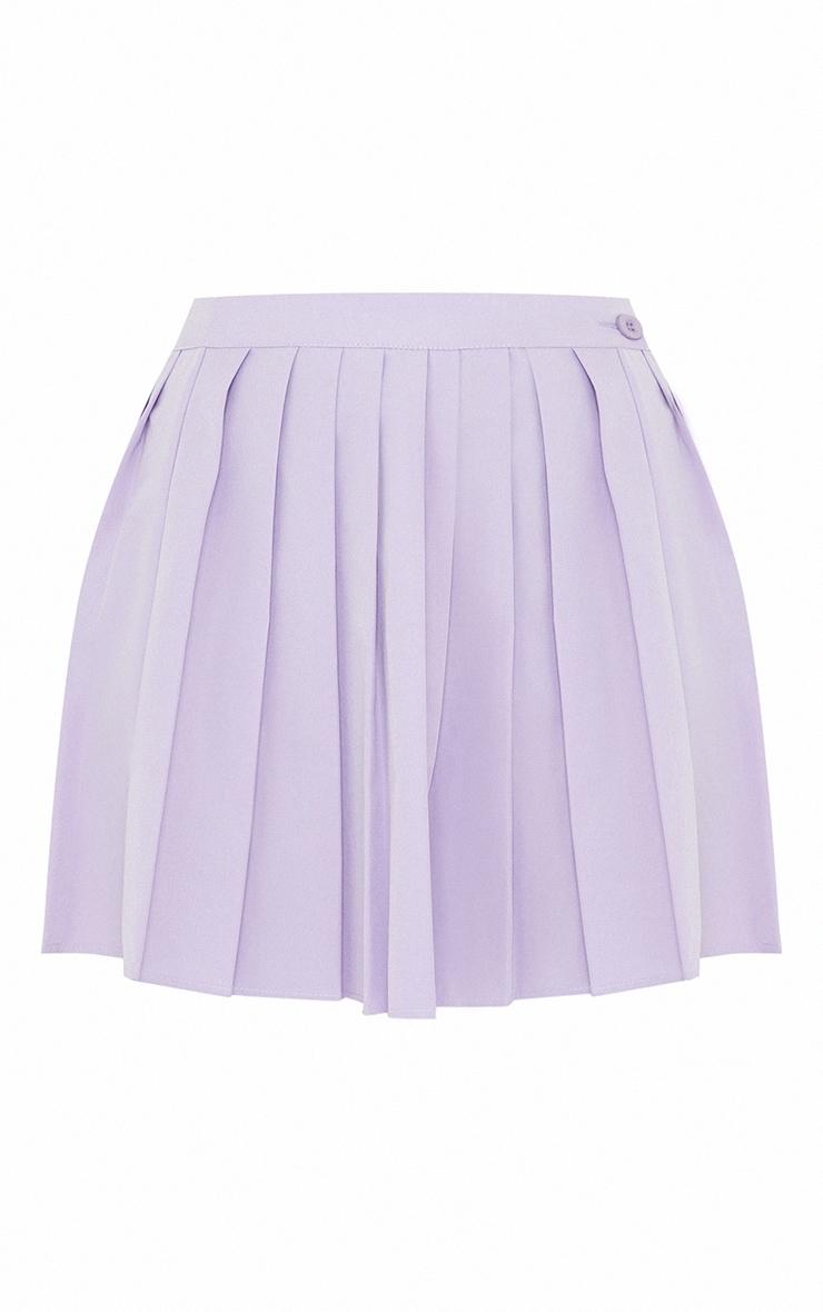 Lilac Peach Skater Skirt 6