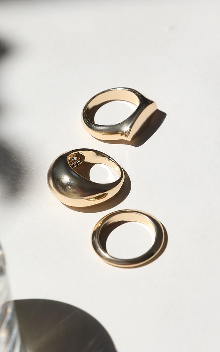 Gold Multi Ring Pack 2